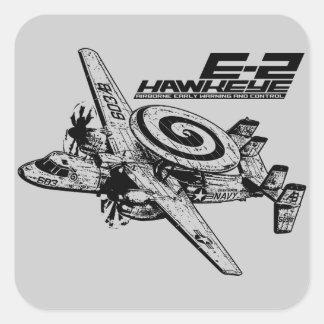 E-2 Hawkeye Square Sticker