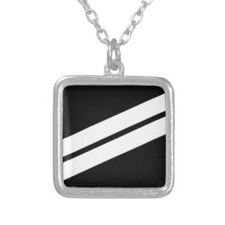 E-2 Seaman Apprentice Silver Plated Necklace
