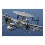 E-2C Hawkeye Aircraft Poster