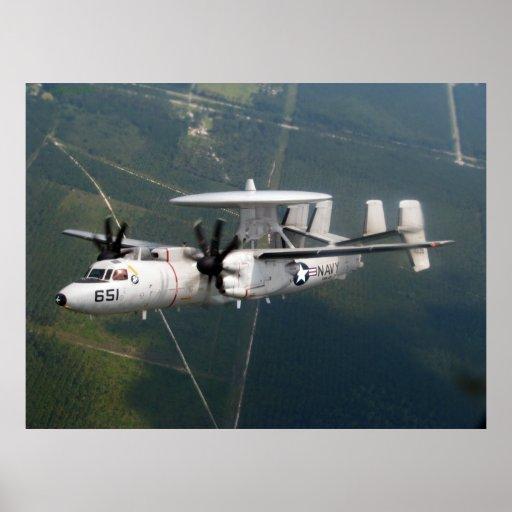 E-2C Hawkeye Impresiones
