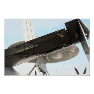 E-2C Hawkeye Tail Poster