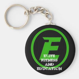 E 33  , ELITE FITNESS  EDUCATION, ELITE FIT... KEYCHAINS