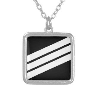 E-3 Seaman Silver Plated Necklace