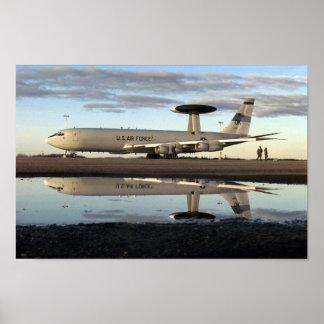 E-3 Sentry AWAC Poster