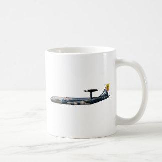 E-3 Sentry Classic White Coffee Mug