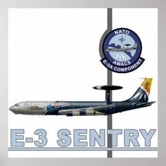 E-3 Sentry Print