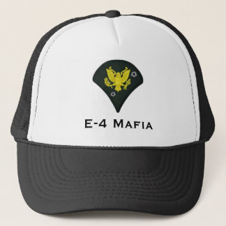 E-4 Mafia Trucker Hat