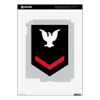 E-4 Petty Officer Third Class Decal For iPad 3