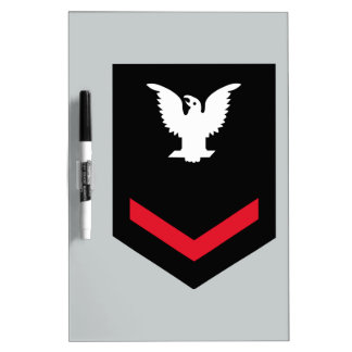 E-4 Petty Officer Third Class Dry-Erase Board