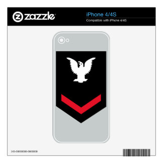 E-4 Petty Officer Third Class Skin For iPhone 4S