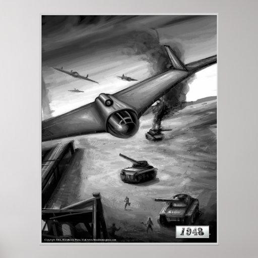 E-555 Bombing Run Print