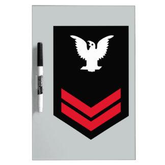 E-5 Petty Officer Second Class Dry-Erase Board