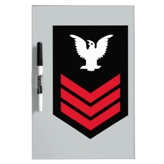 E-6 Petty Officer First Class Dry Erase Board