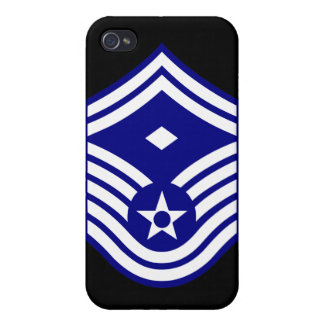E-8  First Sergeant USAF Cover For iPhone 4