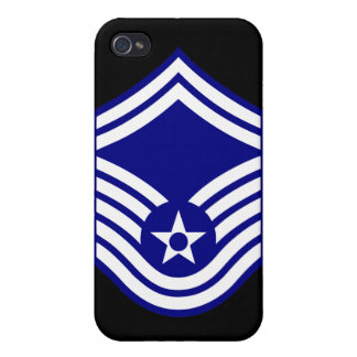 E-8 SMSgt Senior Master Sergeant USAF iPhone 4 Cover