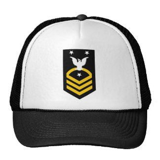 E-9 contramaestre principal de la flota/comando gorras