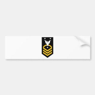 E-9 Fleet/Command Master Chief Petty Officer Car Bumper Sticker