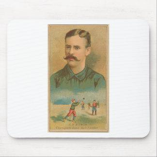 E. A. Burch, Brooklyn Trolley-Dodgers Mouse Pad