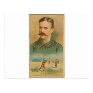 E. A. Burch, Brooklyn Trolley-Dodgers Postcard
