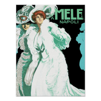 E. A. Mele ~ Women in White Posters