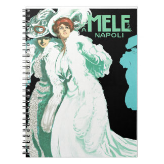 E.A. Melle and Co. ~ Napoli Spiral Notebook