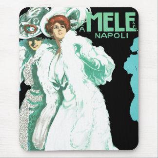 E.A. ~ Napoli de Melle y del Co. Tapetes De Ratones