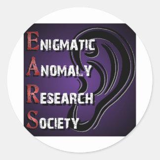 E.A.R.S. - logo Classic Round Sticker