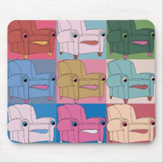 E.A.S.E chair goes - mousepad