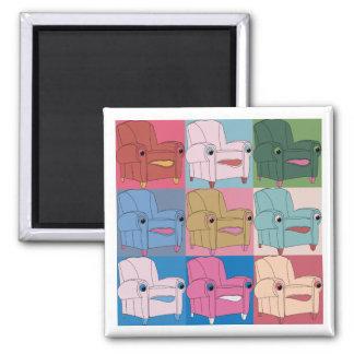 E.A.S.E chair goes - Square magnet