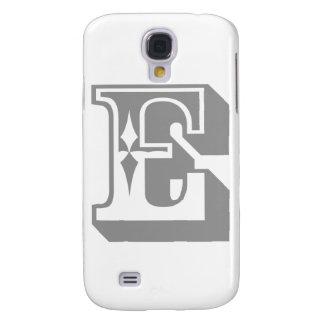 """""""E"""" Alphabet Letter Tee Samsung Galaxy S4 Case"""