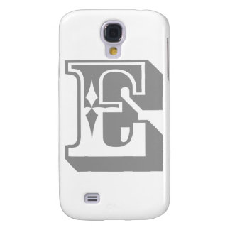 """E"" Alphabet Letter Tee Samsung S4 Case"
