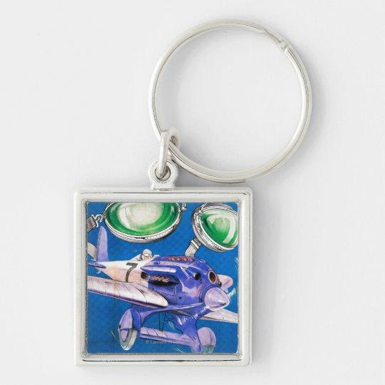 E.B. Meyrowitz Flying Goggles Advertisement Keychain
