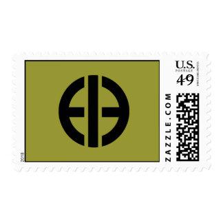 E.B. Postage Stamp