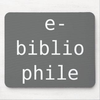 e-bibliophile mouse pad