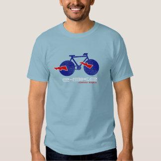 e-bike, electric-bicycle t shirts