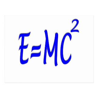 E = bujía métrica 2 (azul) tarjeta postal