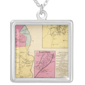 E Chester, Town Silver Plated Necklace