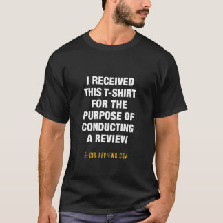 E-Cig-Reviews Disclaimer T-Shirt