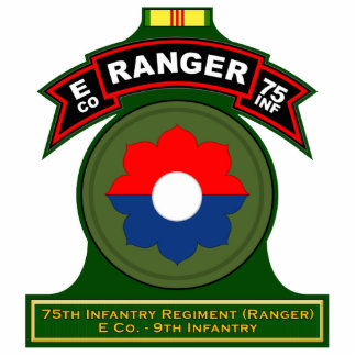 E Co, 75th Infantry Regiment - Ranger, Vietnam Statuette