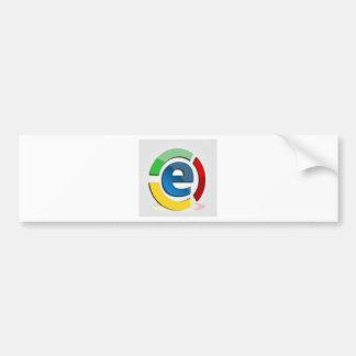 E commerce bumper sticker