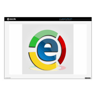 """E commerce decal for 17"""" laptop"""