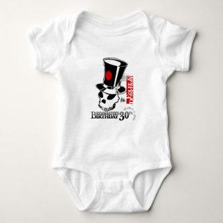 E&D Brew Masters 30th Birthday Baby Bodysuit