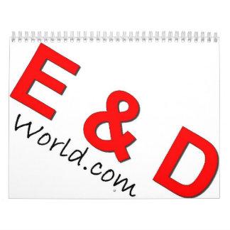 E & D World.com Calendar
