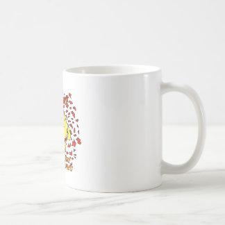E-Damme Tight Leopardprint Underpants Coffee Mug