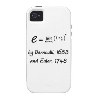 e de Bernoulli y de Euler Vibe iPhone 4 Funda