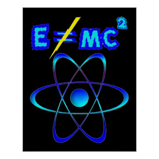 E does not = mc2 - Einstein was wrong! Poster