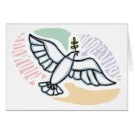 E - Dove of Peace Greeting Card