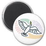 E - Dove of Peace Magnets