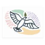 E - Dove of Peace Postcard
