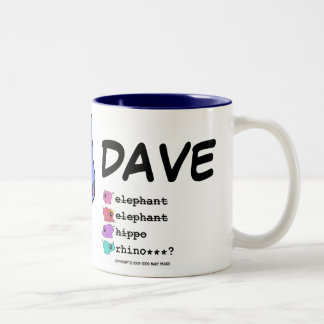 e.e.h.r...? Dave right-handed Mug
